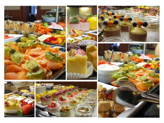 Bistro Buffet Collage II